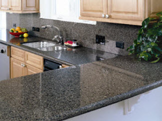 Julio marmol topes para cocinas marmol en de maturin for Pisos de granito natural